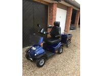 Mini crosser all terrain mobility scooter and trailer NEW BATTERIES