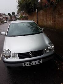 Volkswagen Polo 1.4L 2002 Good Runner in good condition MOT till July 2019. Mileage:142930 For £1200