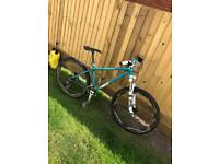Custom mtb hardtail mountain bike Saracen