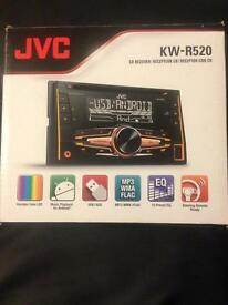 Jvc car stereo with adapter