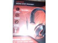 Gioteck xh50 mono chat headset