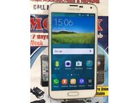 Samsung Galaxy S5 white 16GB Unlocked Android version 6.0.1 Good working Condition