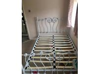 Bed frame available been used for a month £30