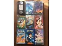 FREE collection of vhs movies