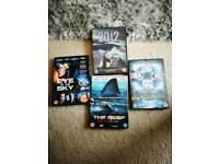 Four great title dvds