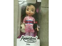 Disney Animators Collection Mint Condition Mulan