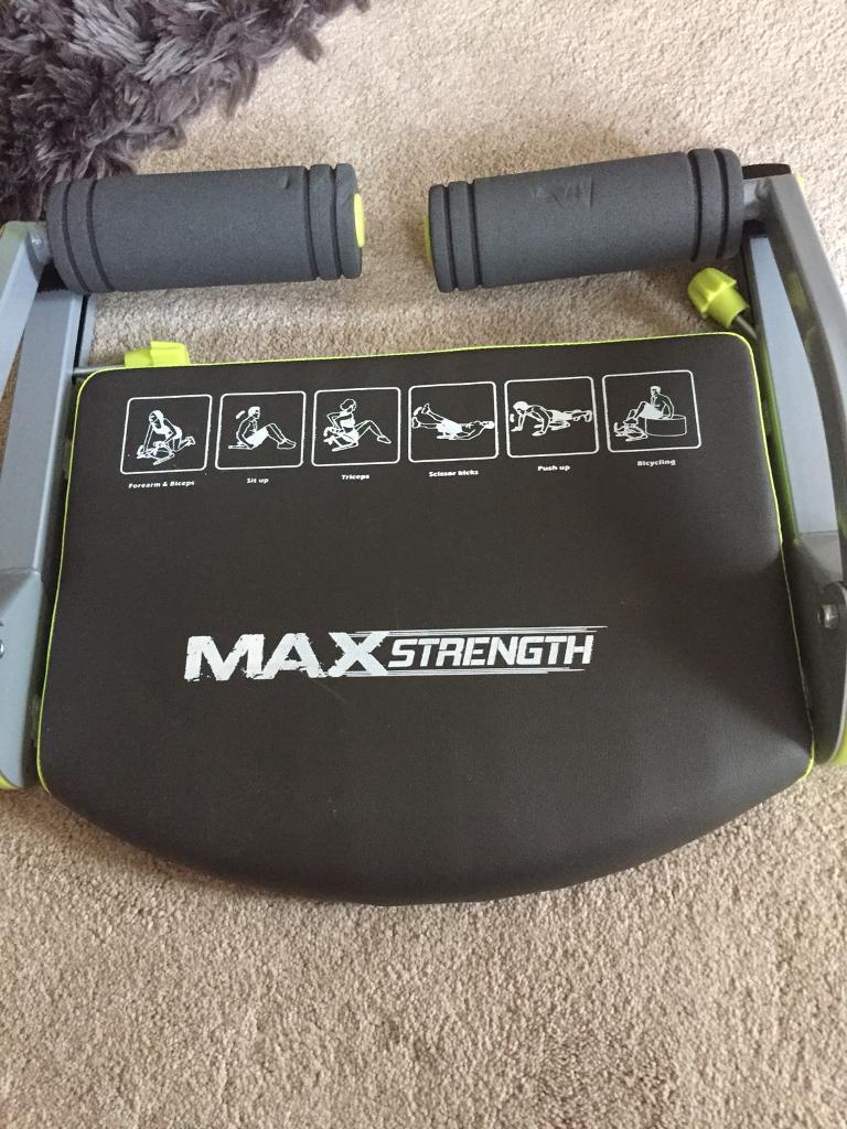 Max strength abdominal cruncher.