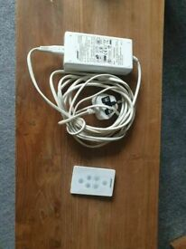 Genuine Bose Switching Power Supply Series1 PSM36W-201 and remote for Bose SoundDock