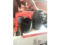 Canon EF 24-70mm f/2.8 L USM ONLY 650
