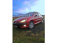 Clean and tidy Peugeot 206 Diesel For Sale!