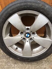 "17"" BMW alloy with Michelin tyre"