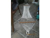Garden Hammock, sturdy heavy rope, suitable for an adult