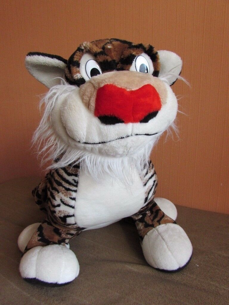 Huge soft toy Tiger.