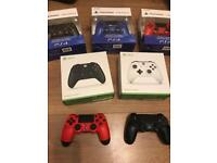 Brand new and used controllers for PS4 and Xbox one from £25