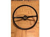 Classic VW Beetle steering wheel