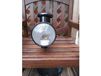 Antique vintage gas lamp ship train boat