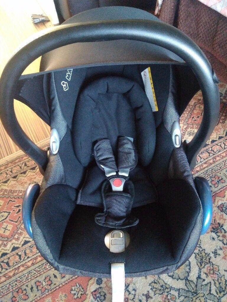 Maxi Cosi Cabriofix car seat excellent condition!