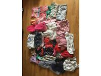 Girls summer clothes bundle 4-5