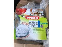 Pyrex steam basket (x3)