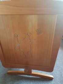 Obaby B to bear gliding country pine cribs inc matresses