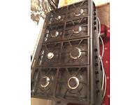 Full Gas cooker, 3 ovens and 8 eyes