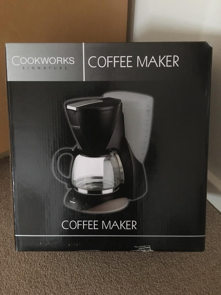 Brand New Coffee Maker Cookworks Signature