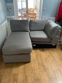 Free John Lewis Finley modular sofa 2 parts