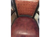Beautiful Vintage Leather Desk Chair