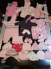 Big (106 items)Baby girl clothes bundle Newborn to 0-3 months