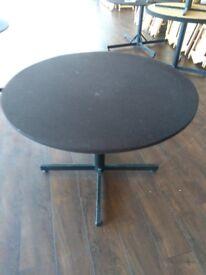 £20 Each! Conference/Restaurant/Pub Felt Covered Steel framed tables
