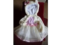 Furry Easter Bunny dress to fit 9-12 months new with labels - Shipley