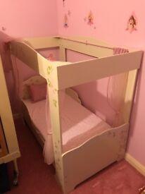 Junior Princess Bed With Mattress