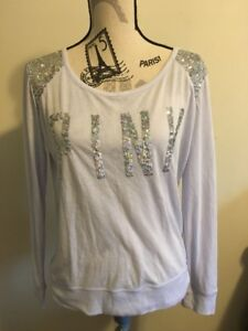 PINK Victoria's Secret sequin long sleeve