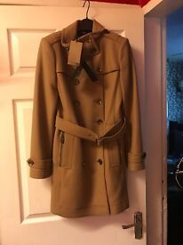 Burberry wool trench coat (brand new )