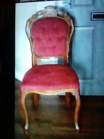 French Louis chair's