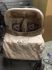 Bertoni Double pushchair