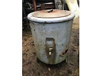 Vintage gas dolly tub