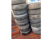 Peugeot 407 307 206 tyres spare wheels
