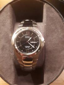Citizen Titanium WR100 Eco Drive Watch