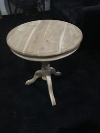 BRAND NEW Round Wooden Table