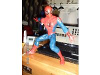 large Spiderman toy