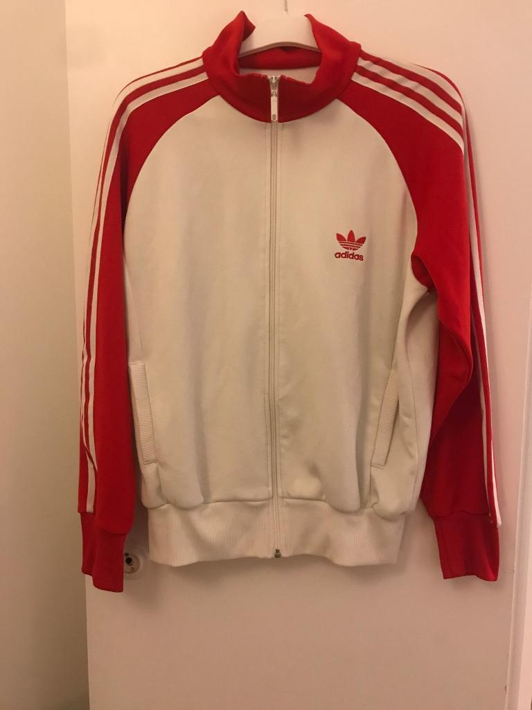 Analytical Vintage Adidas Team Windbreaker Track Suit Set Size Large Activewear Tops
