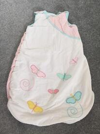 Baby Girl Sleeping Bag 0-6 months 2.5 tog