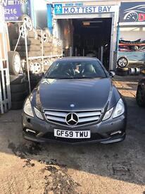 Mercedes E350 3.0 Auto Diesel