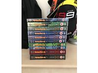 Naruto Box Sets Seasons 1-9! Excellent Conditon!