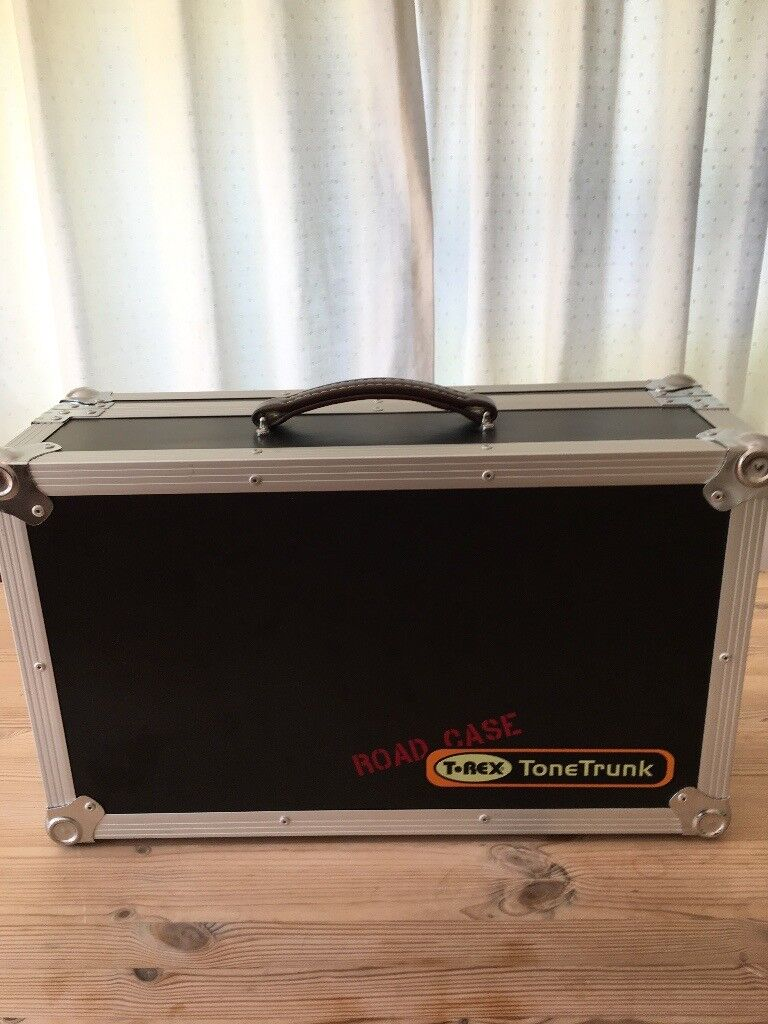 T-Rex ToneTrunk 56 Guitar Effects PedalBoard with Hard Case | in Dorking,  Surrey | Gumtree