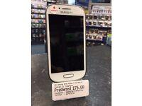 Samsung I8190 Galaxy S III Mini 8GB White -- Unlocked