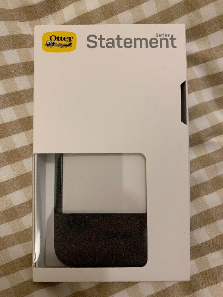 quality design 4fd29 2d3dd OtterBox Statement Series Case with Felt Accent for iPhone XS Max - Lucent  Storm | in Stratford, London | Gumtree