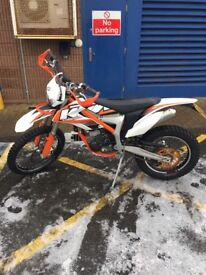 KTM Freeride 350 2013 with upgrades