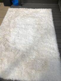 Rug white 160x230
